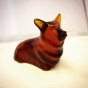 Pimms and champagne corgi jelly sculpture