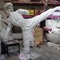 4 Oversize statue prop