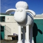 Shaun the sheep sculpture