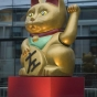 Giant fortune cat