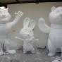 Polystyrene Mascots
