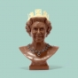 Chocolate queen sculpture