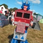 Optimus Prime transformer fancy dress outfit