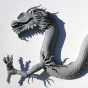 Poly Carved Dragon