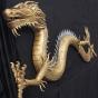 Oversized Prop Metallic Dragon