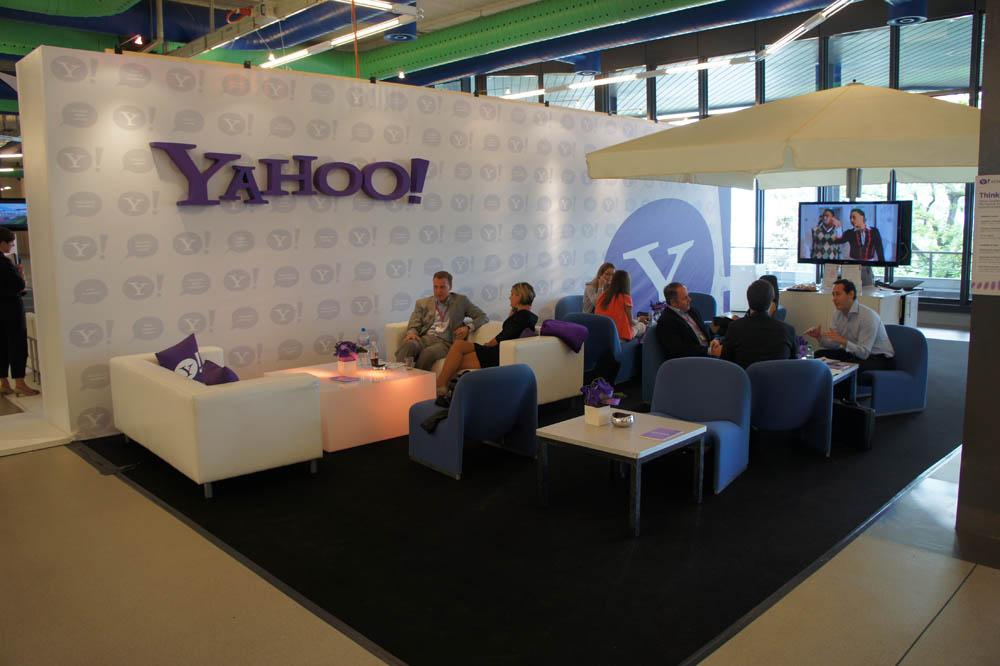 Yahoo break-out area