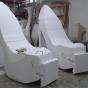 polystrene giant-high heel shoes