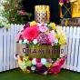 Chambord Flower Bottle on site