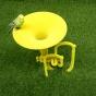 Musical instument croquet hoop