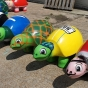 Cartoon turtle reproductions