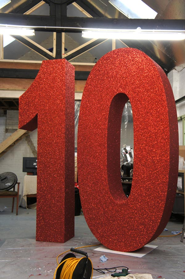 Plunge Productions Giant Number 10 Prop