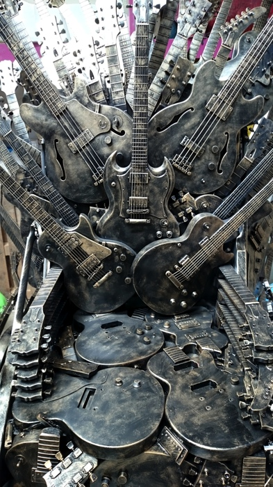 Plunge Productions Gibson Throne Of Guitars
