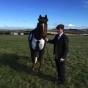 Bespoke horse suit tweed