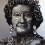 Queen Elizabeth Portrait Car Parts Kwik Fit