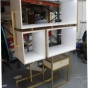 Brass welded display unit