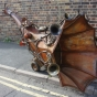Steam Punk Giant Horn Prop
