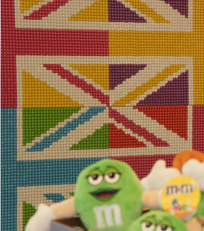 M&M flags