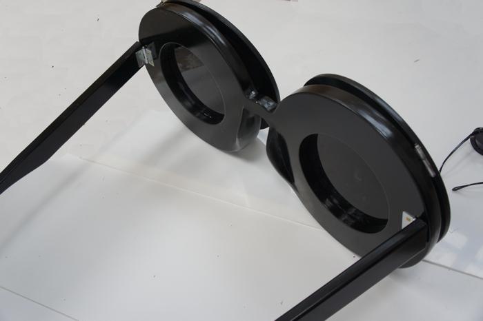 Plunge Productions Linda Farrow Giant Sunglasses