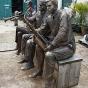 bronze mannequins