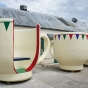 Giant Tea Cup Seats