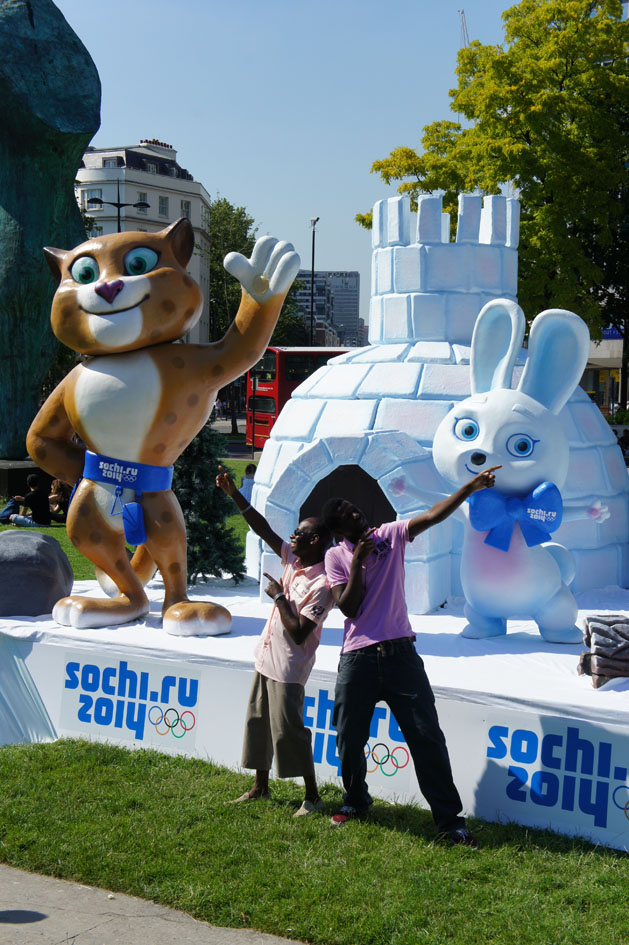 Sochi mascots 09
