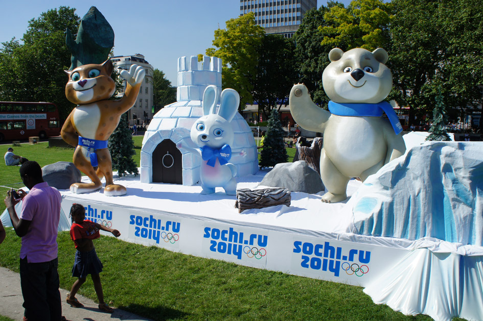 Sochi mascots 01