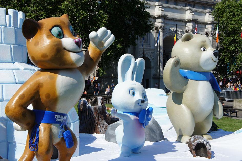 Sochi mascots 12