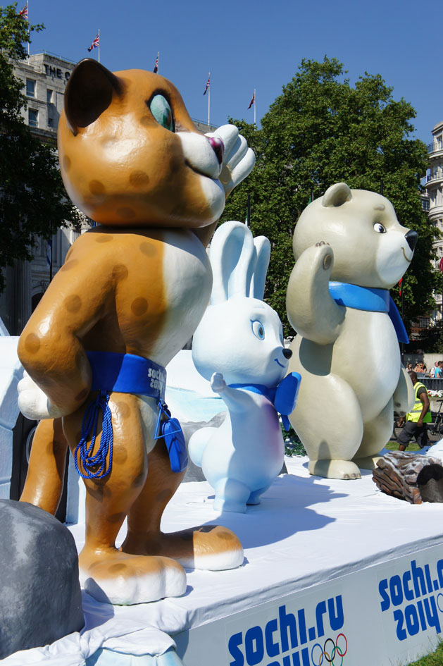 Sochi mascots 07