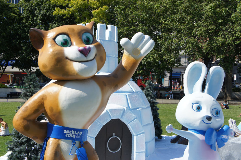 Sochi mascots 04