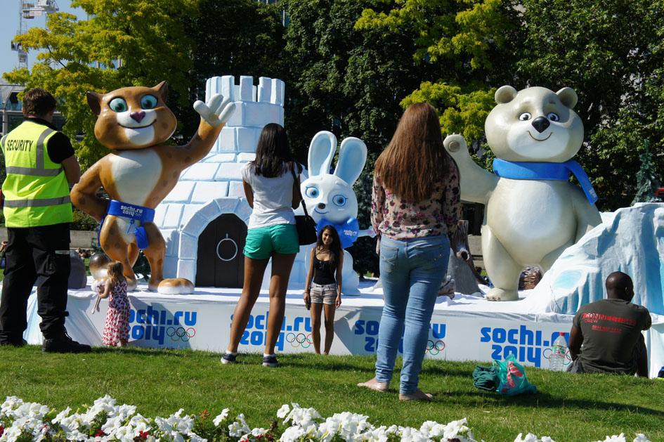 Sochi mascots 10