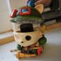 Teemo toy fitted back together