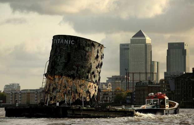 Plunge Productions Replica Titanic Funnel