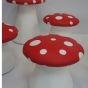 Large and small toadstool