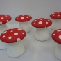 Toadstool chairs variety of sizes