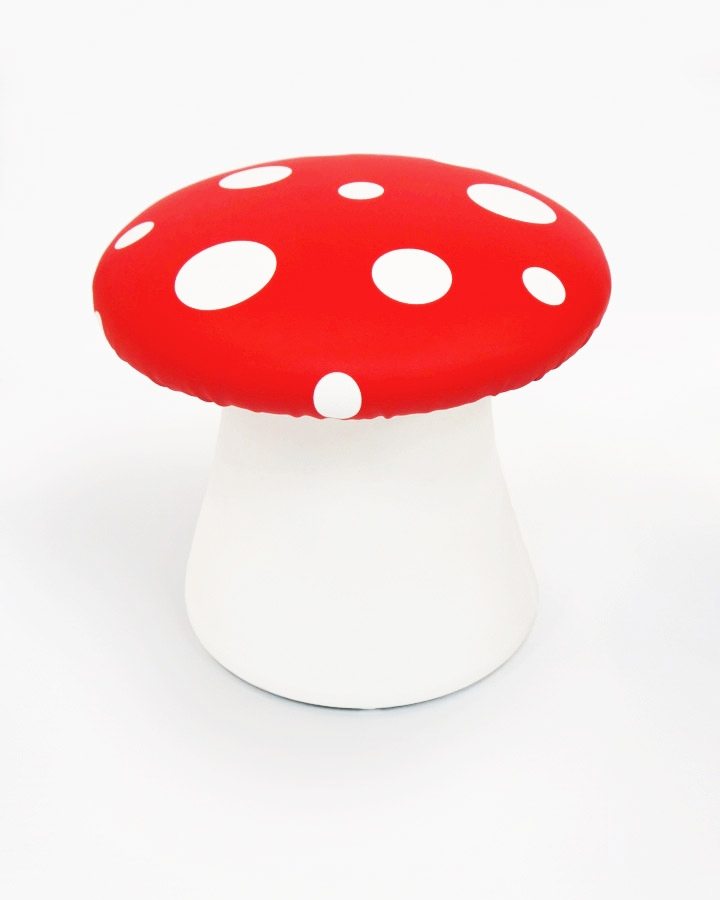 Toadstool Chairs: Plunge Productions :- Gorgeous Toadstool Seats