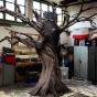 Gnarly Sinister Oak Tree Prop Set