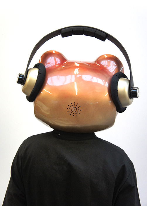 Plunge Productions Ear To The Ground Vimtoad Dj Headpiece