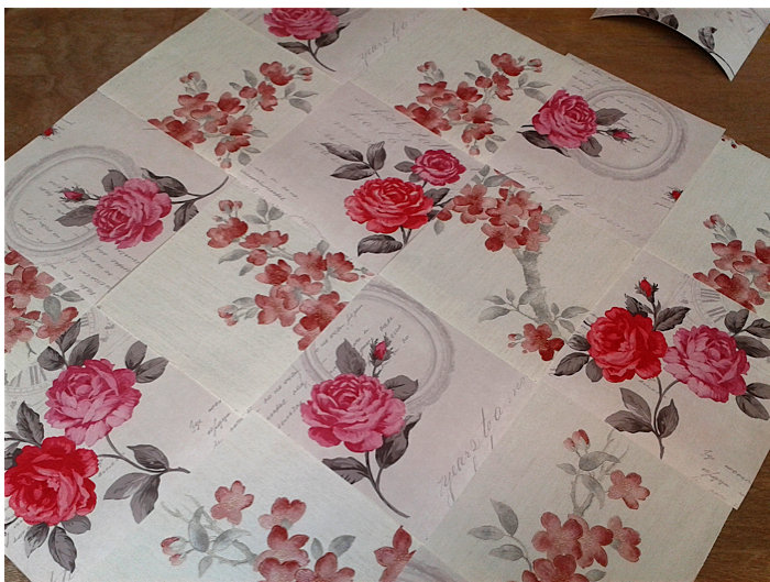 Plunge Productions Homebase Wallpaper Patchwork Quilt