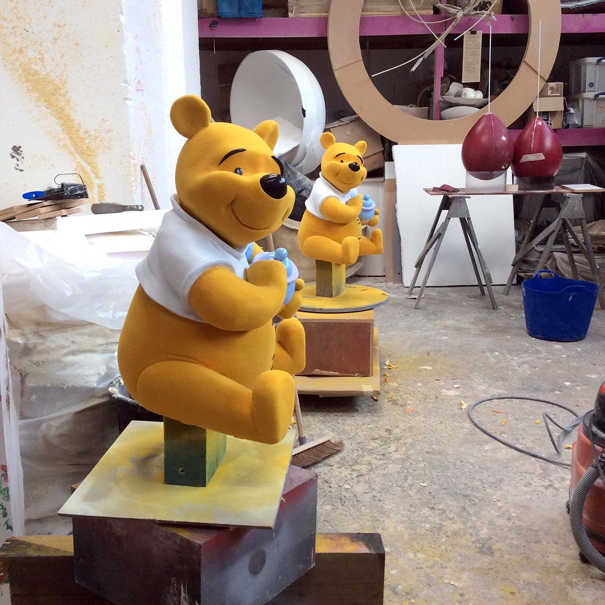 Winnie the Pooh at 100 acre wood