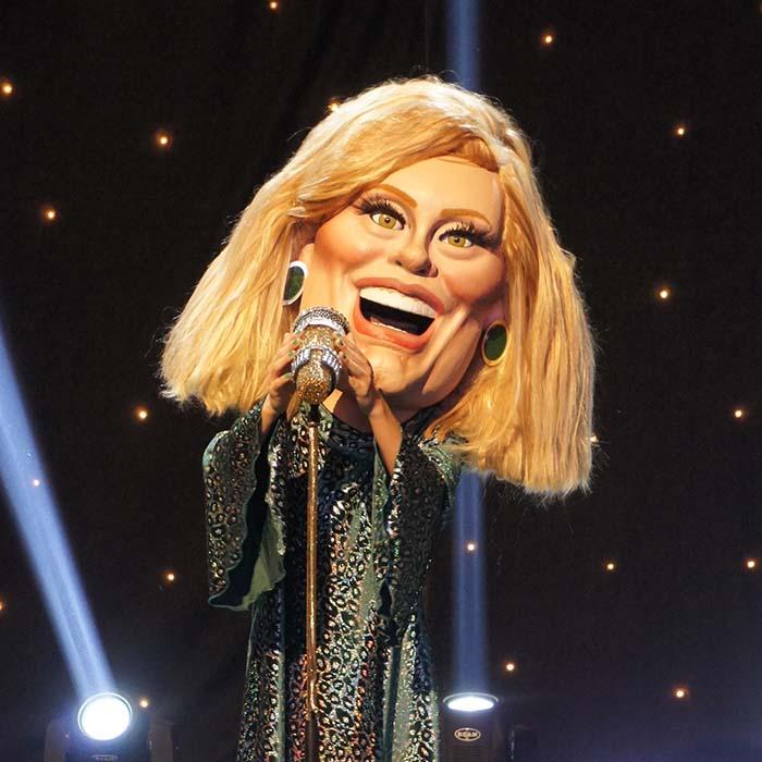 ITV Bigheads Costume Heads Adele