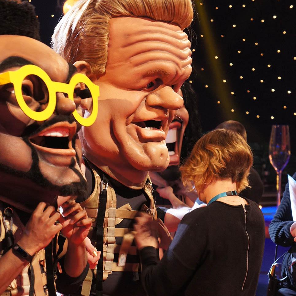 ITV Bigheads Costume Heads