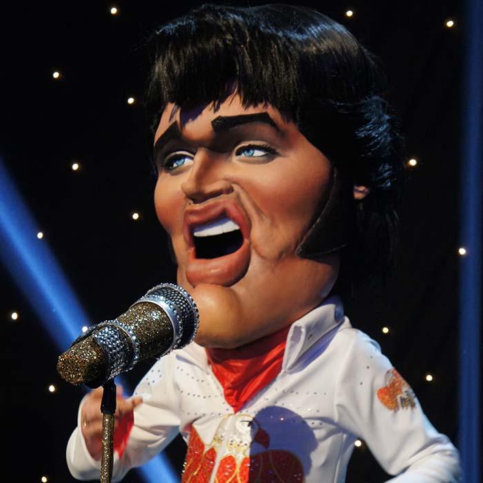 BigHeads Elvis Presley