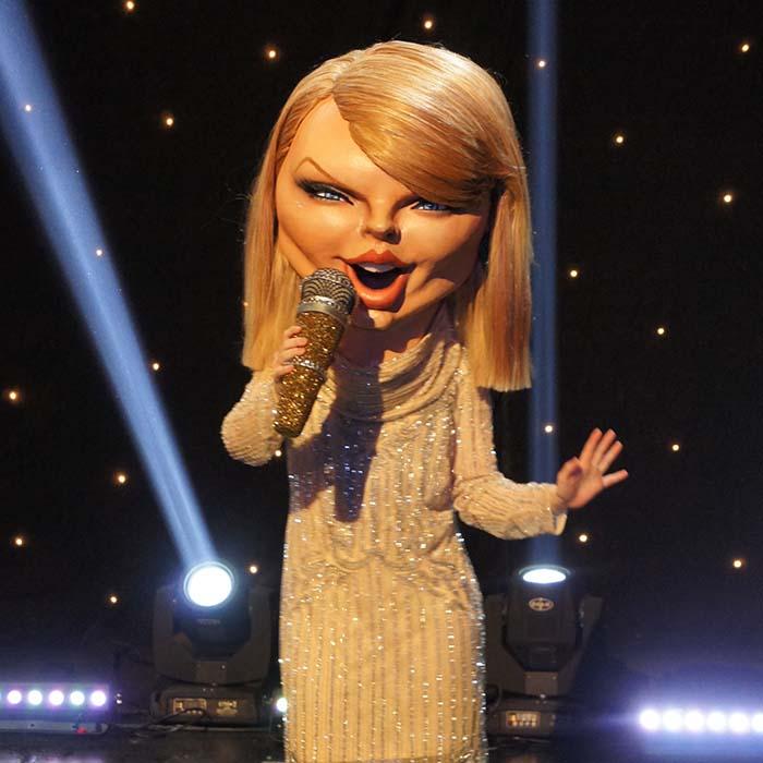 ITV Taylor Swift Costume Head