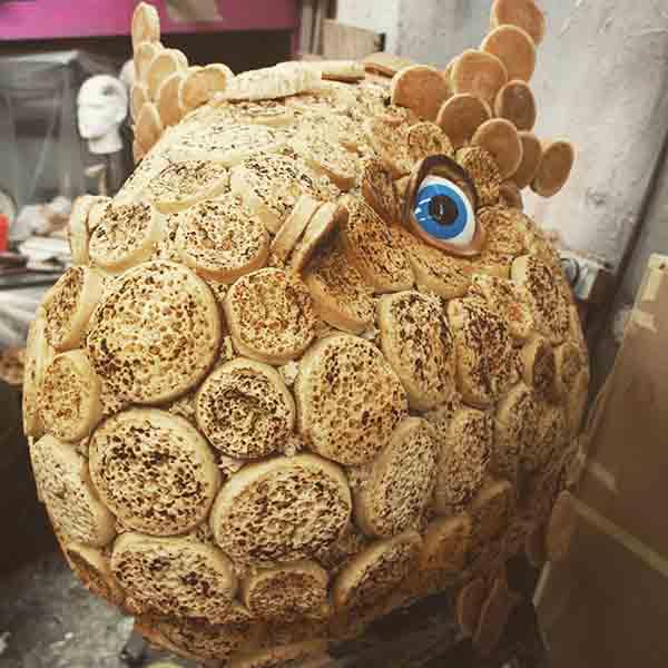 Food Art Sculpture
