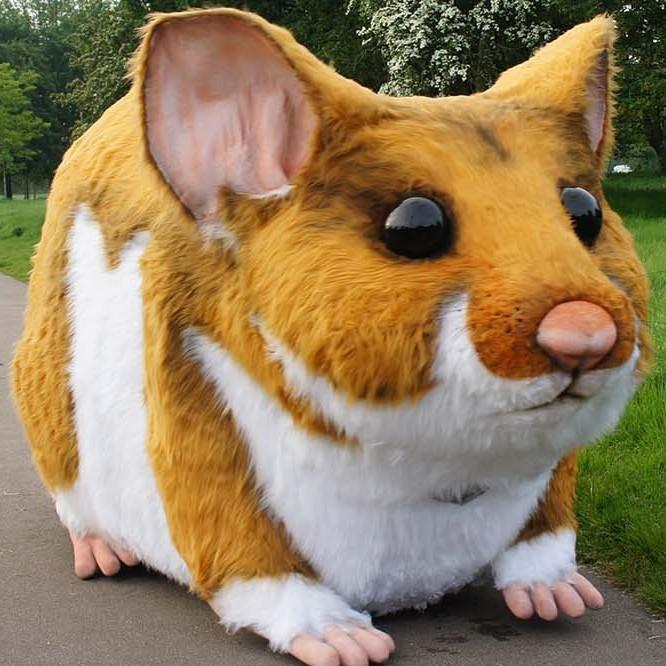 Kwik Fit Giant Hamster Prop