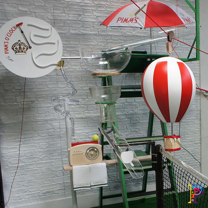 Rube Goldberg Machine using tennis items