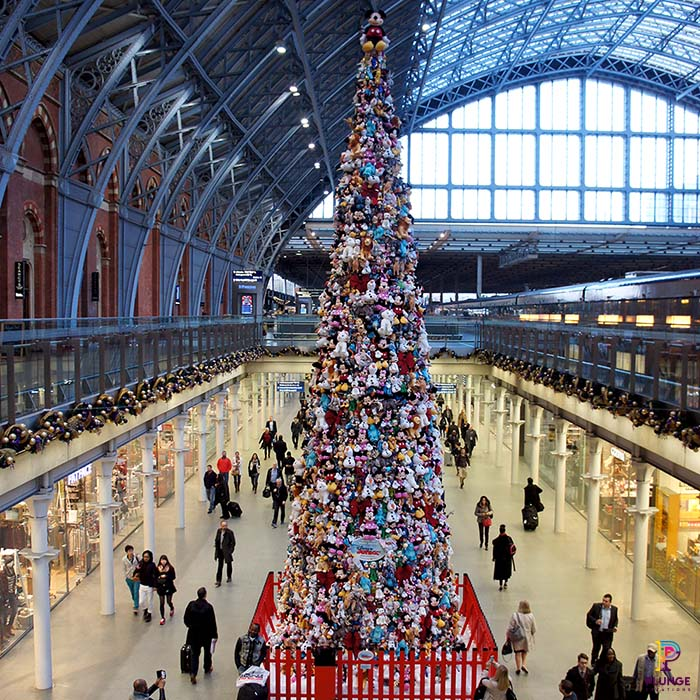 St Pancras Disney Toy Tree