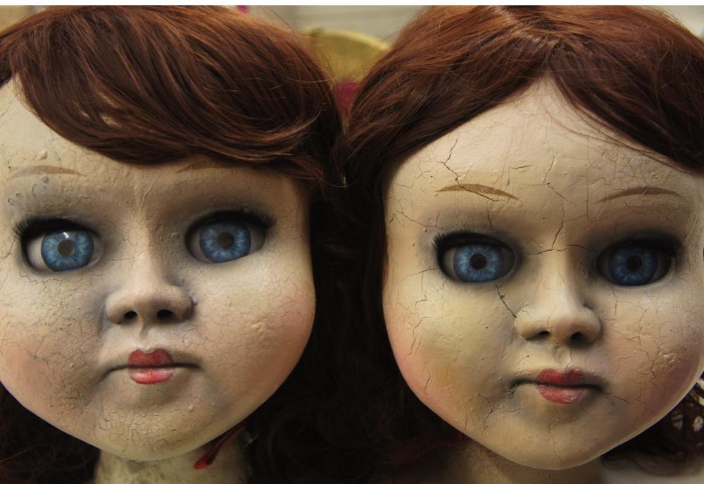 Derren Brown Victorian Dolls Mask