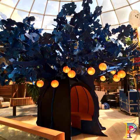 Blue Moon Wishing Tree Sculpture