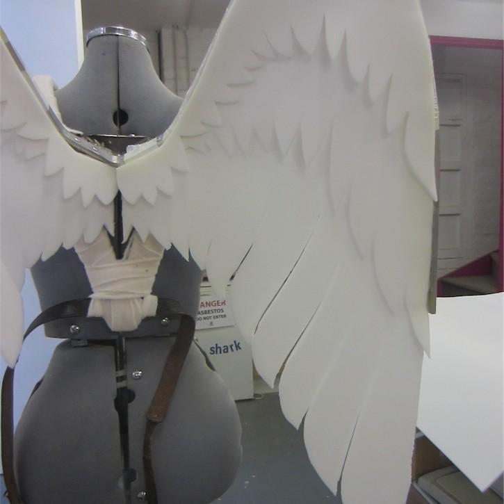 Plastazote wings for Kid Icarus costume
